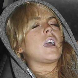 Lindsay Lohan allegedly drunk in car