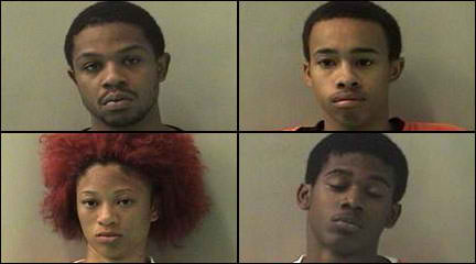 4 young adults charged in cabbie's shooting in SW Houston