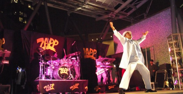 ZAPP, Andre Pitre, J. Anthony Brown at Budweiser Majic Live after 5