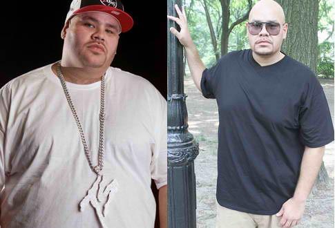 Lean back: Fat Joe slims it down