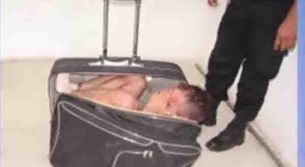Man allegedly attempts to escape prison in wifey's suitcase