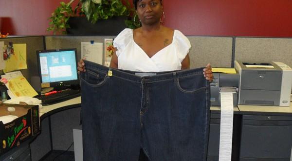 Half my size; loving 'me' twice as much: Tiaesha's weight loss