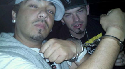 Paul Wall, Baby Bash post Twit pic after arrested for pot