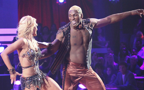 Metta World Peace 1st to sashay away from DWTS