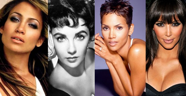Curse of the dark-haired beauty:  J-Lo,Liz,Halle,Kim –and all the men!