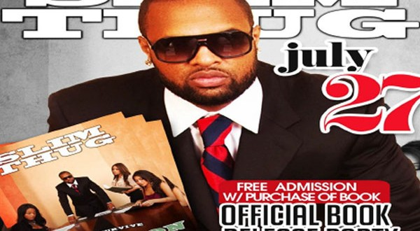 Slim Thug to hold launch party for 'How to Survive a Recession'