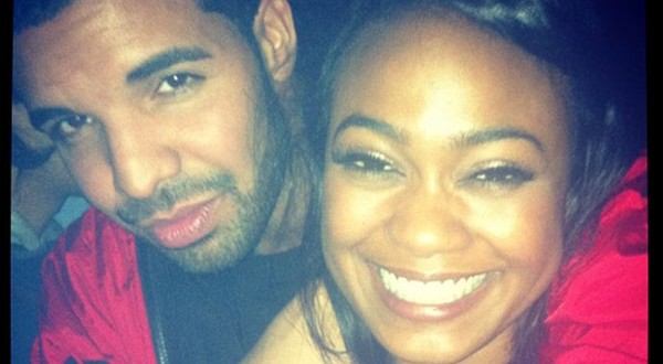 Drake surprises Tatyana Ali at LA birthday bash