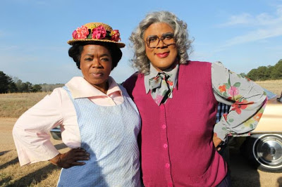 Oprah's 'Miss Sofia' & Tyler's 'Madea' make funny video