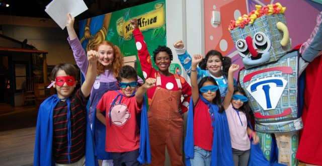 Children's Museum of Houston Superhero Challenge!