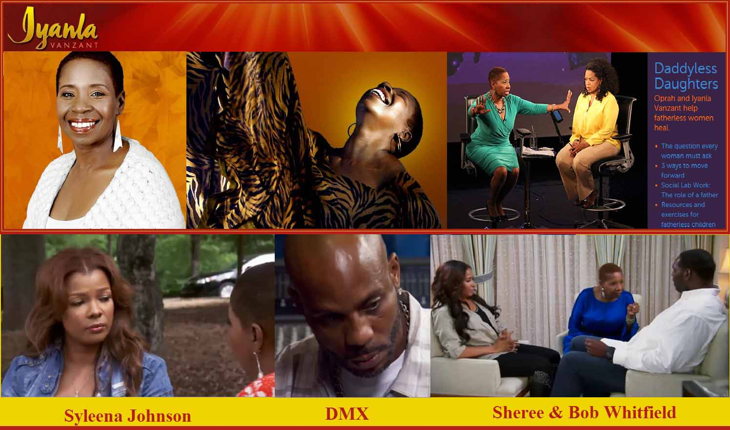 Iyanla:  'Black Women Are Out Of Order & Give Black Men Too Much Control Over Their Lives'