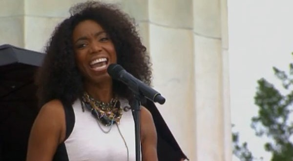 Heather Headley sings 'Jesus is Love' at March on Washington 50th anniversary celebration