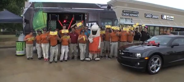 Cars, cash, etc.:  Little Caesars employees, store in Katy win over $125,000 in prizes!