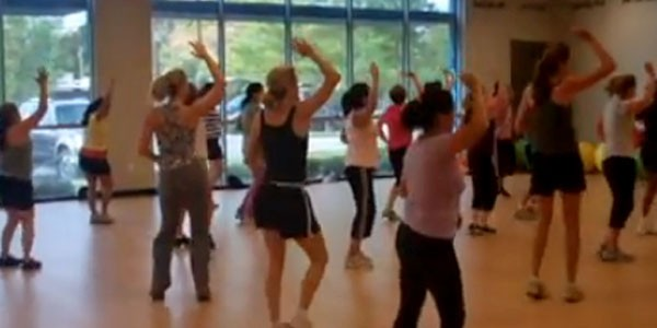 Dance, sweat pounds away at YMCA's FREE  Zumba® Fest!