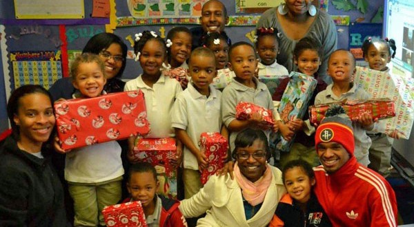 TSU marketing students share gift of giving with Angel Tree for kids