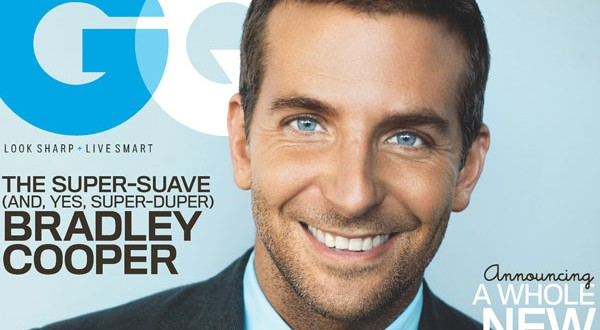 Super sexy Bradley Cooper covers GQ Magazine