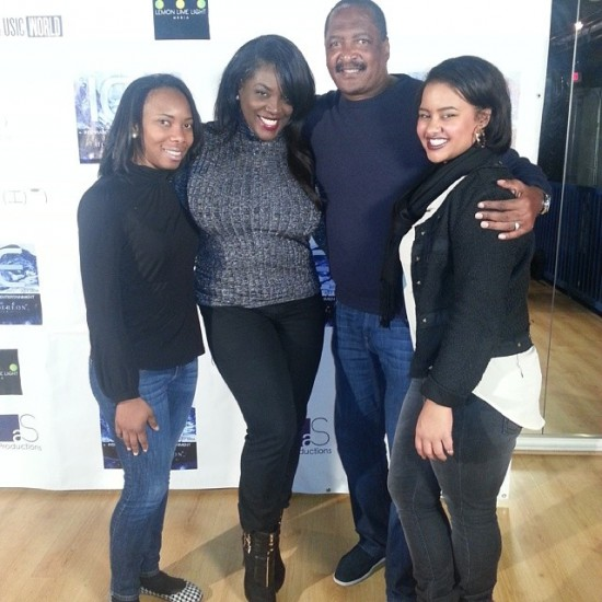 (Left to Right)  Ashley Brooks, NWA's Nakia Cooper, Mathew Knowles and Taylor Reynolds