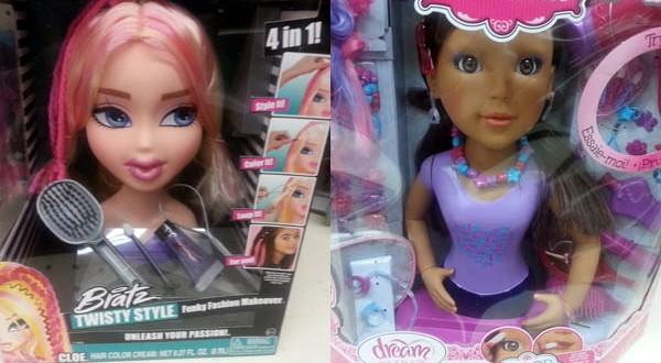 How hard is it to cross the racial divide…when it comes to baby dolls??!!