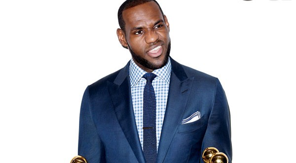 LeBron James covers March GQ; talks about becoming the best ever