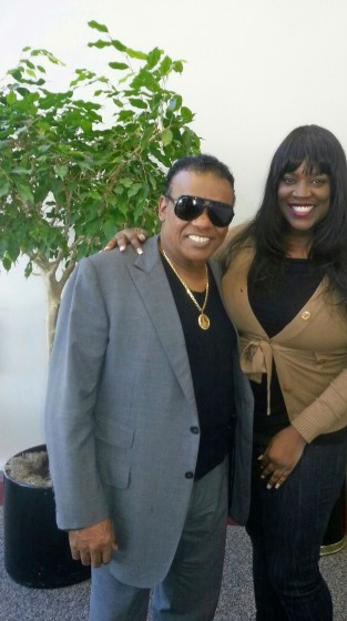 """N.W.A. Editor-in-Chief Nakia Cooper and Ron """"Mr. Biggs"""" Isley"""