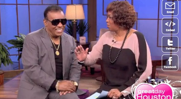 Ron Isley in Houston too 'woo' the ladies for Valentine's Day