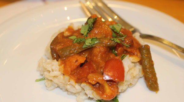 Malaysian Vegetable Curry... Photo credit:  Nakia Cooper