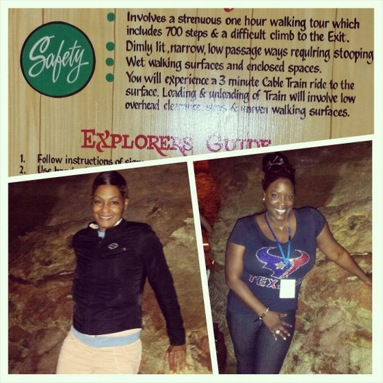@NewsWitAttitude -- Walked into #MarvelCave cute, came out like WALKING DEAD! 700 stairs but worth every step w/ @bckybr @ExploreBranson