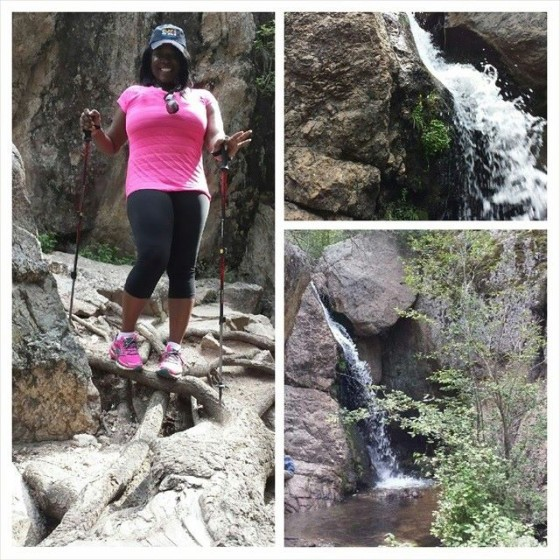 @NewsWitAttitude :  Started from the bottom..then made it to the top, baby! Hiked Rio en Medio with @Adventurepart while at @FSSantaFe