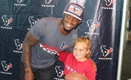 'Fly Guy' Kareem Jackson launches signature line of Houston Texans apparel