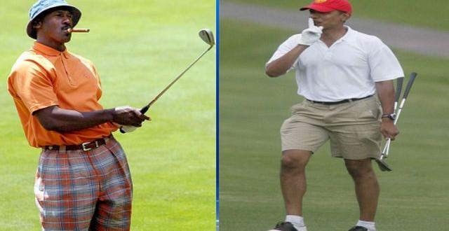LISTEN: Jordan disses President Obama's golf game, prez quick wit' a comeback