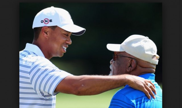 tiger woods charlie sifford