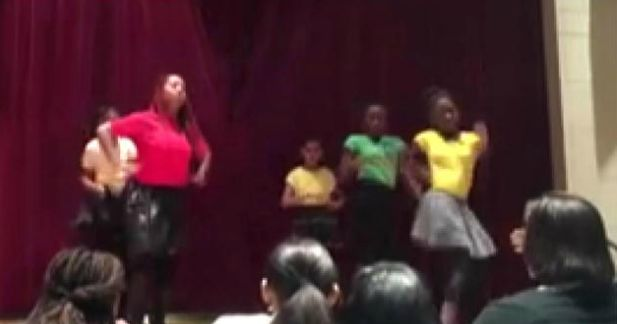 What in the holy hell? Middle school girls dance to Usher's 'stripper' song at school