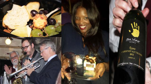 @NewsWitAttitude:  They loaded us up with the good stuff on the Jazz Wine Train.  Need I say more?