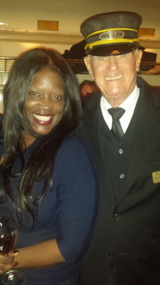 @NewsWitAttitude: No date? Who cares? I had the man in charge! With #JazzWineTrain at @VisitGrapevine ALL ABOARD! #BlackGirlBucketList