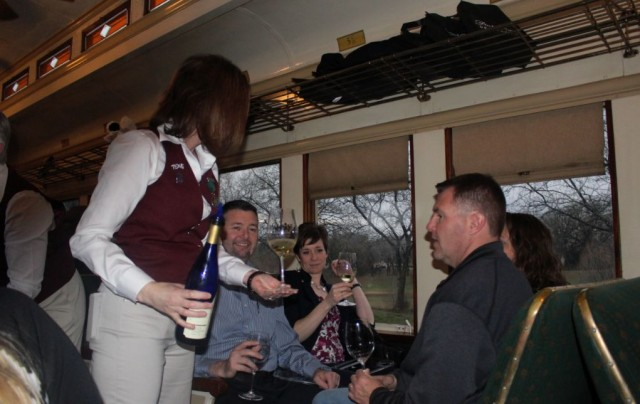 @NewsWitAttitude:  Let's drink some wine and ride the rails!