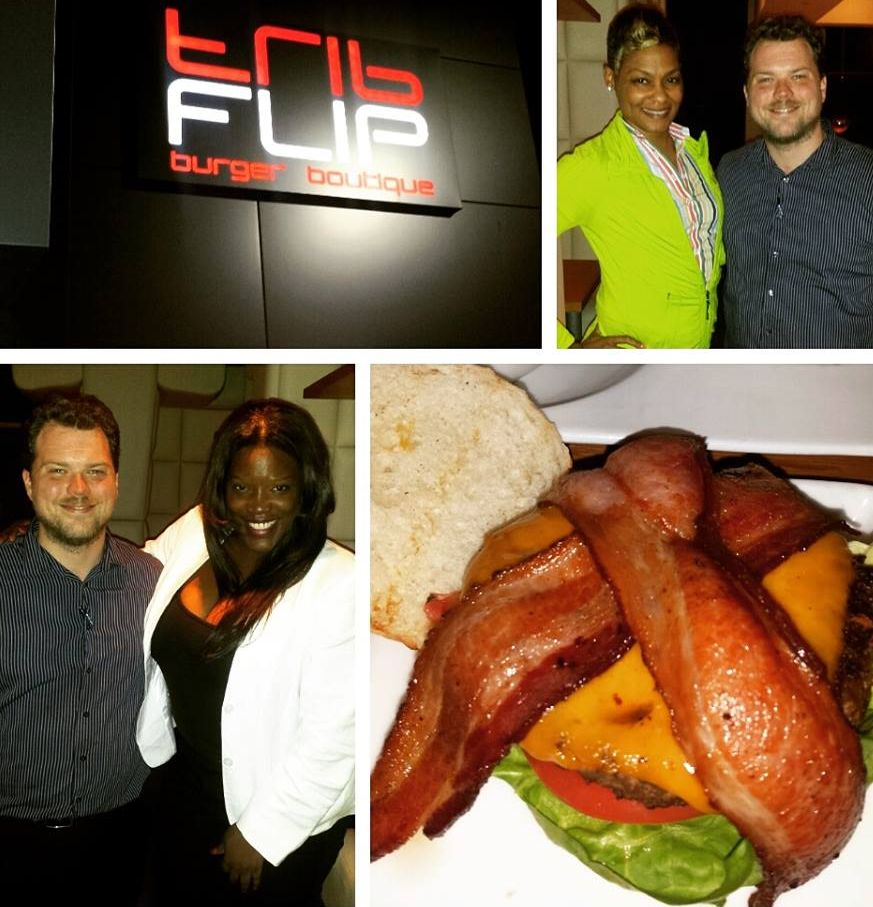@NewsWitAttitude: Anytime I travel, I try to find the perfect cocktail, best downhome soul food, the perfect steak and the perfect BURGER! That last part...BINGO! THIS is how it's done at FLIP burger boutique in Buckhead !!! Loved the food so much we had to hug the general manager. . Thanks Robert! #Atlanta #GirlfriendsGetaway #BlackGirlBucketList