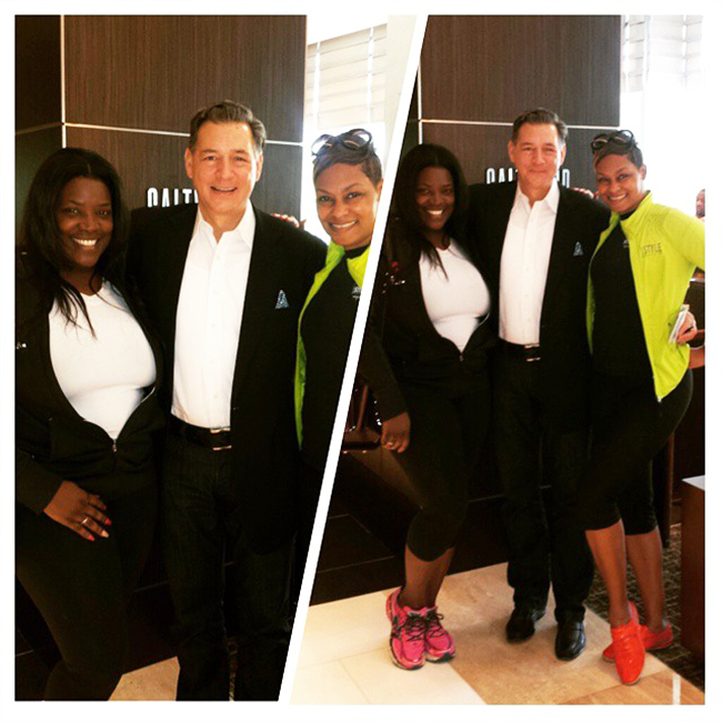 @NewsWitAttitude: After checking in and sipping some champagne, we met with this handsome devil...Mark Castriota, General Manager of Loews Atlanta... it's all about the Southern Love...and cute shoes! Let the adventure (and pampering) begin! #BlackGirlBucketList