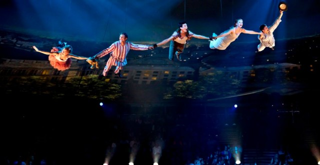 Groundbreaking Peter Pan live performance takes flight in Houston