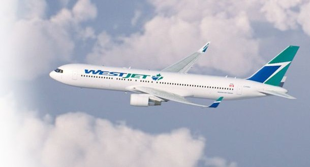 WestJet begins non-stop service between Houston, Calgary