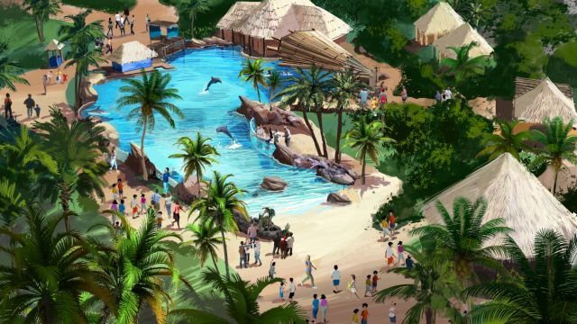 sea world rendering