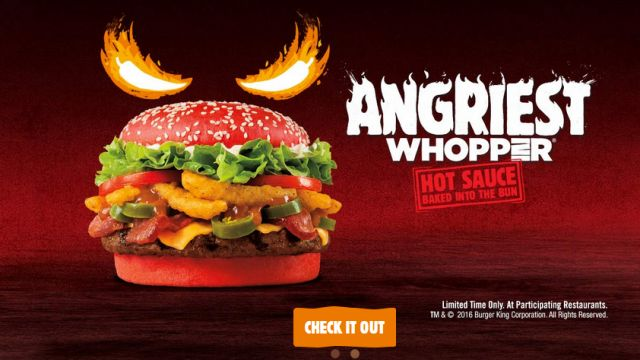'Angriest Whopper' is heating things up on Thursday