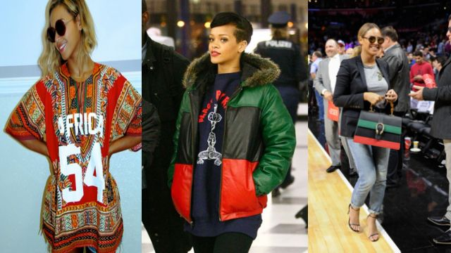 Pro Black or Pro Trend? Beyonce' and other celebrities rock Pan-African fashions
