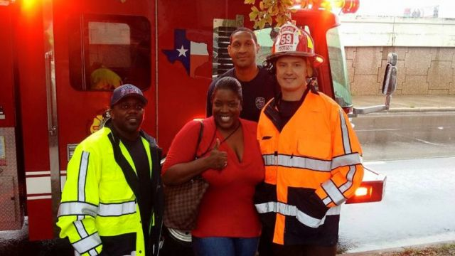 Facebook post leads to rescue from Houston flood waters
