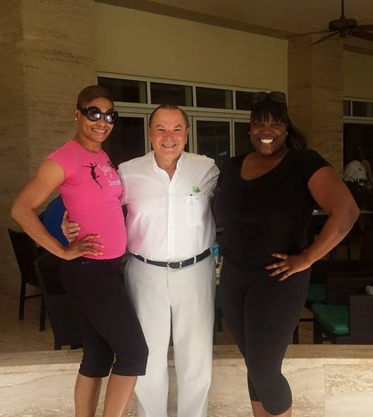"""@NewsWitAttitude: Meeting """"Mr. Frank"""" and hearing his story of what can be possible is the best birthday gift a woman can get!"""