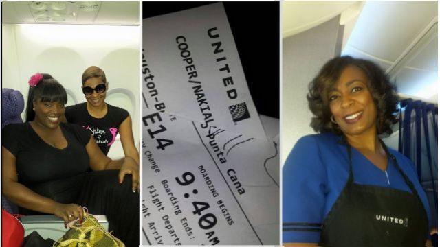 @NewsWitAttitude: Our @united flight 2 @GoDomRep had best legroom, food & NICEST, PRETTIEST flight attendant.Shout out 2 Pam Dickerson