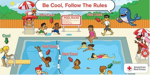 American Red Cross Association Apologizes For Pool Safety Poster Deemed 39 Racist 39 News With