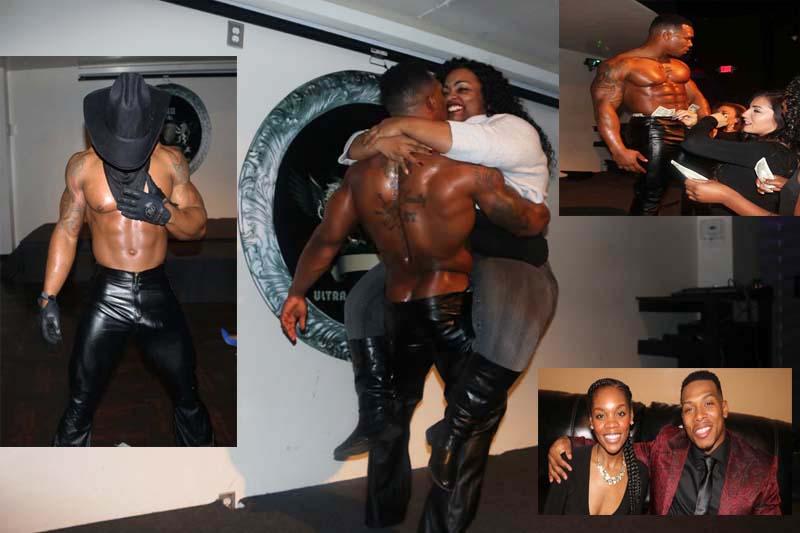 Black houston in stripper