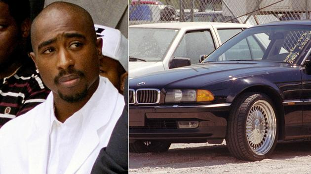 Vehicle in which Tupac was fatally shot set to be auctioned off for $1.5 million
