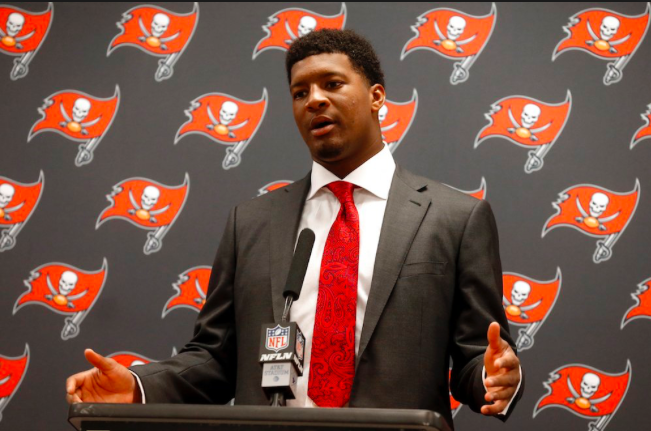 Jameis Winston tries to inspire elementary students, but uses poor word choice