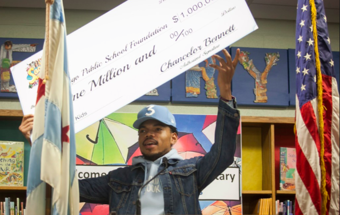 Chance the Rapper keeps on making change, this time in his hometown!