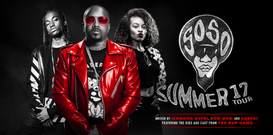 Jermaine Dupri Presents: SoSoSUMMER 17 Tour, makes a stop in Houston June 24!